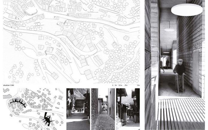 Les projets d architecture de genoud architectes sierre sion